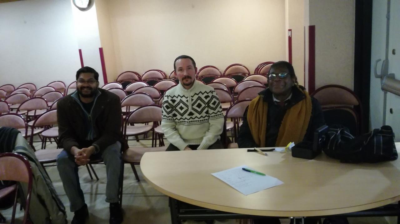 Un habitué ,Bruno Botta & José membres du SCEAU & d'Ovni Paris