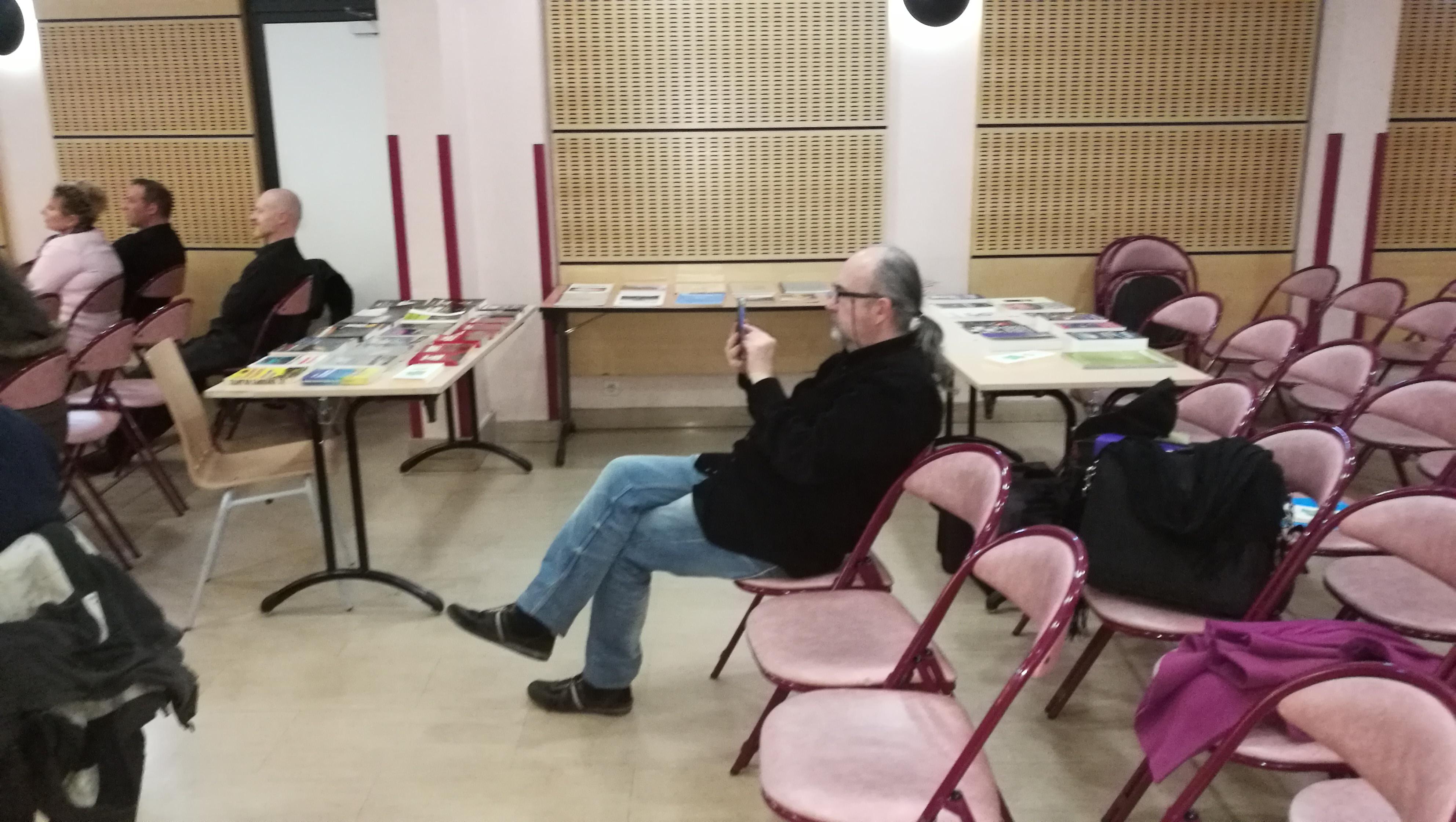 Gilles Durand Libraire itinérant du SCEAU