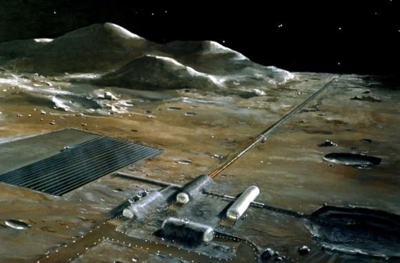 Catapulte magnétique lunaire ( Projet genre SF)