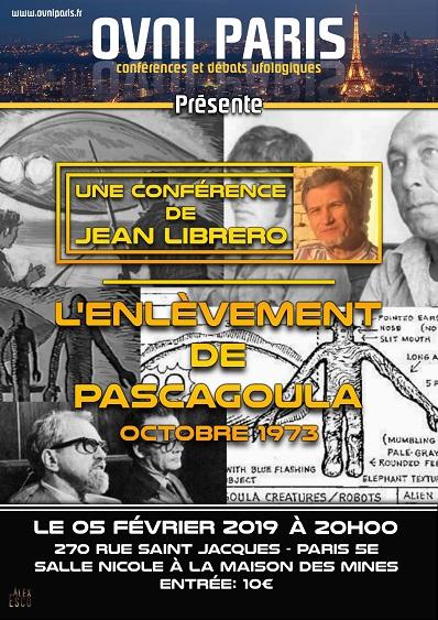 Affiche de la conférence (ovniparis25-25pc)