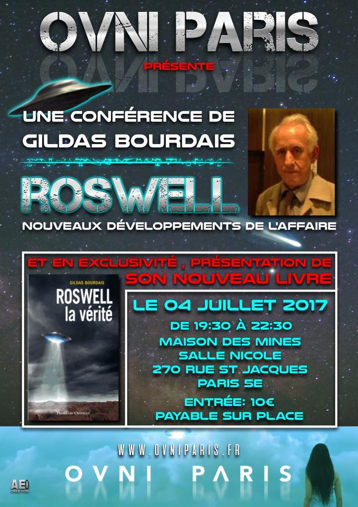 Soirée du 4 Juillet 2017  Bourdais / Roswell