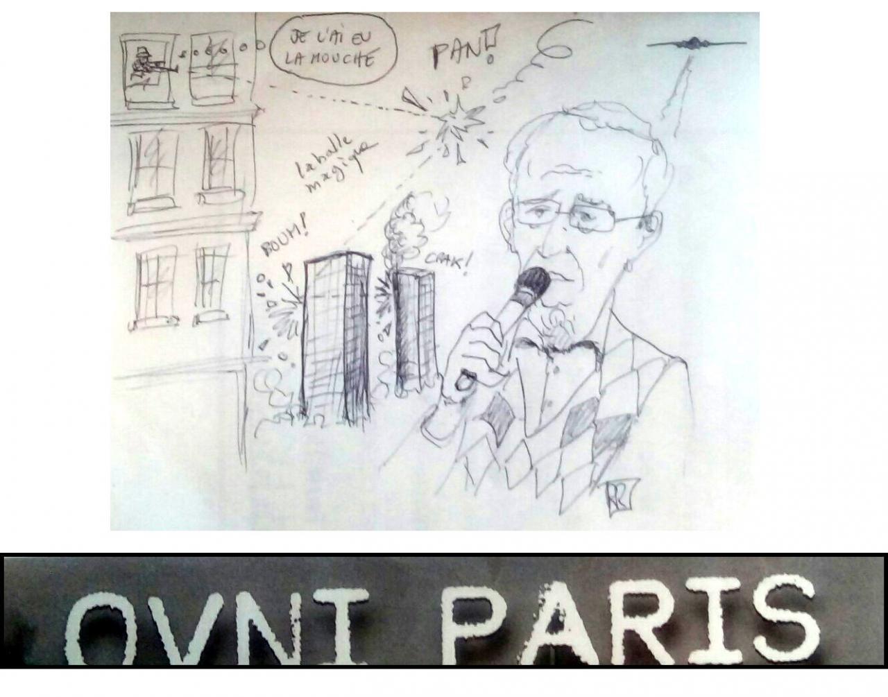La caricature de Raoul Robé.