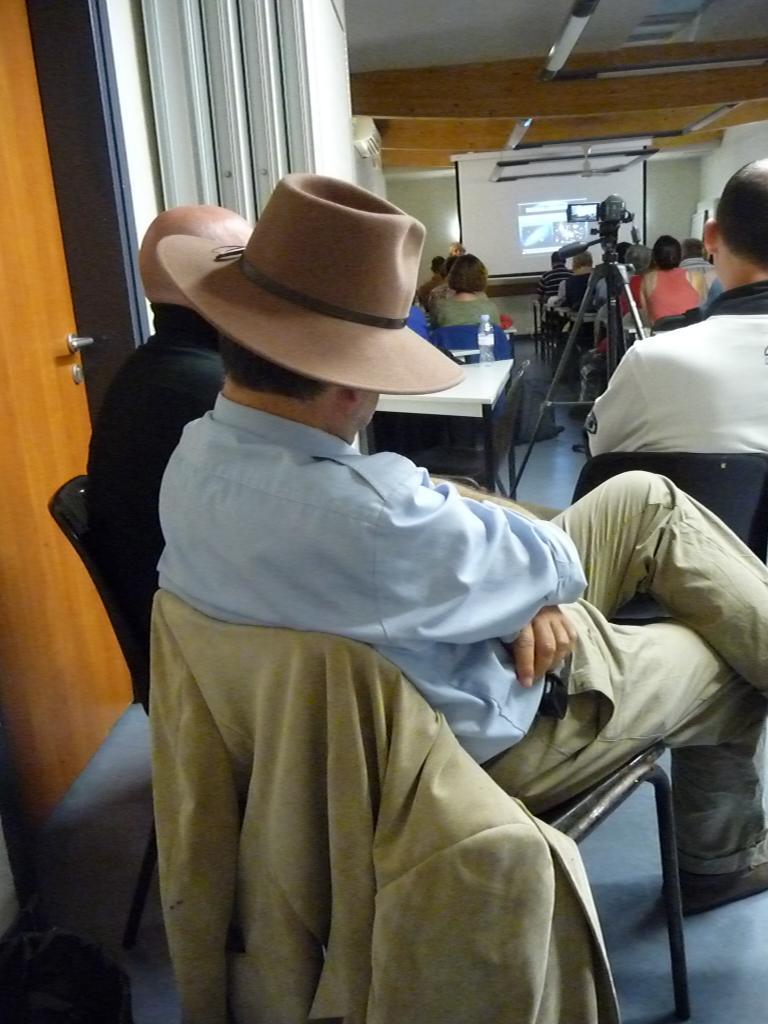 Gilles Lorant & chapeau