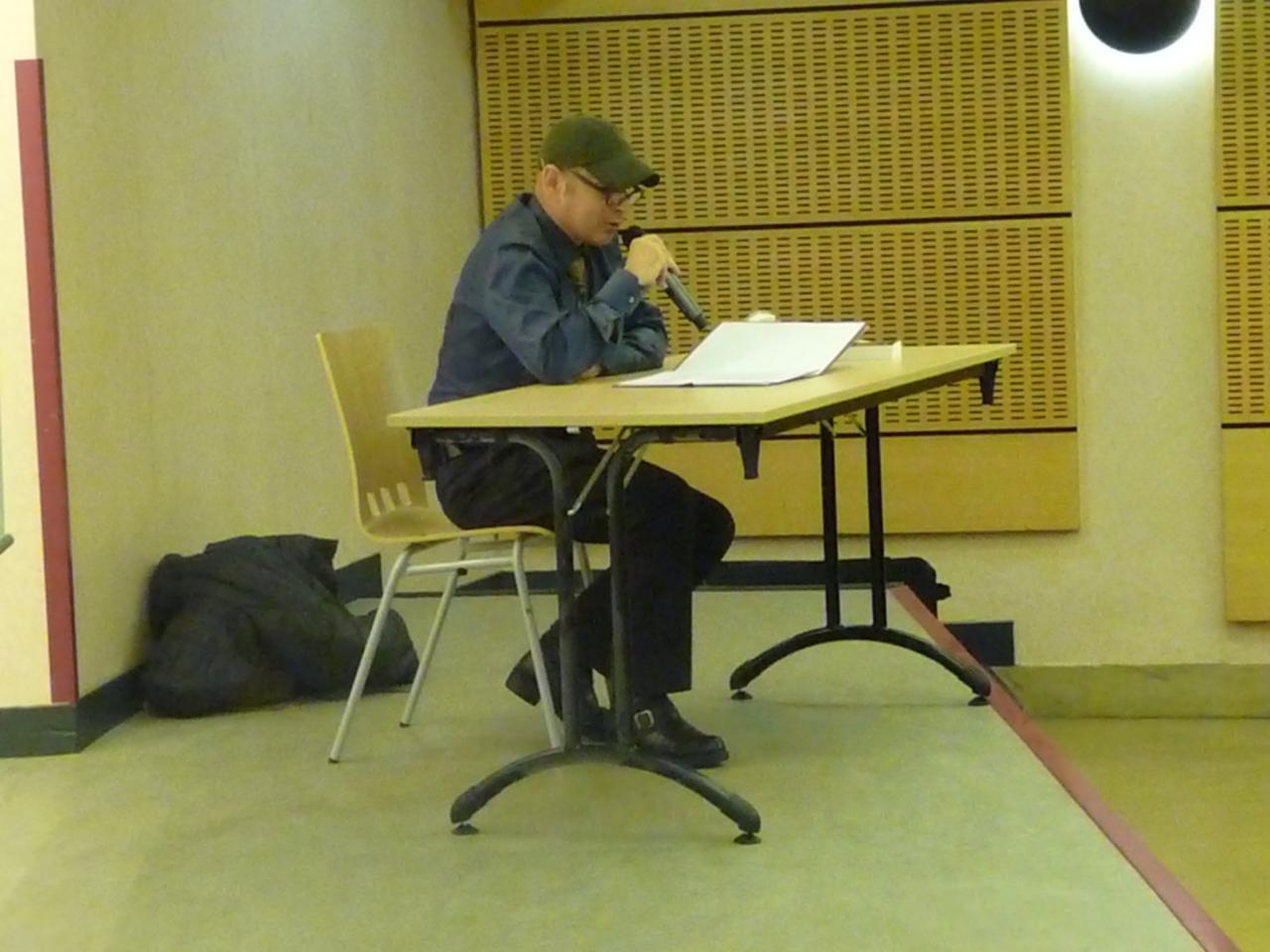 Egon Kragel  (avec sa casquette)
