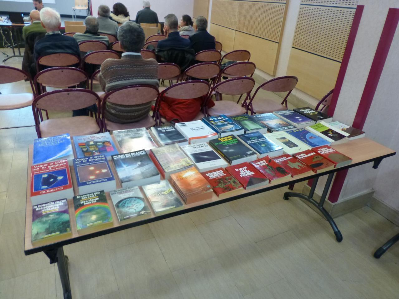 Echantillon des livres vendus par le SCEAU