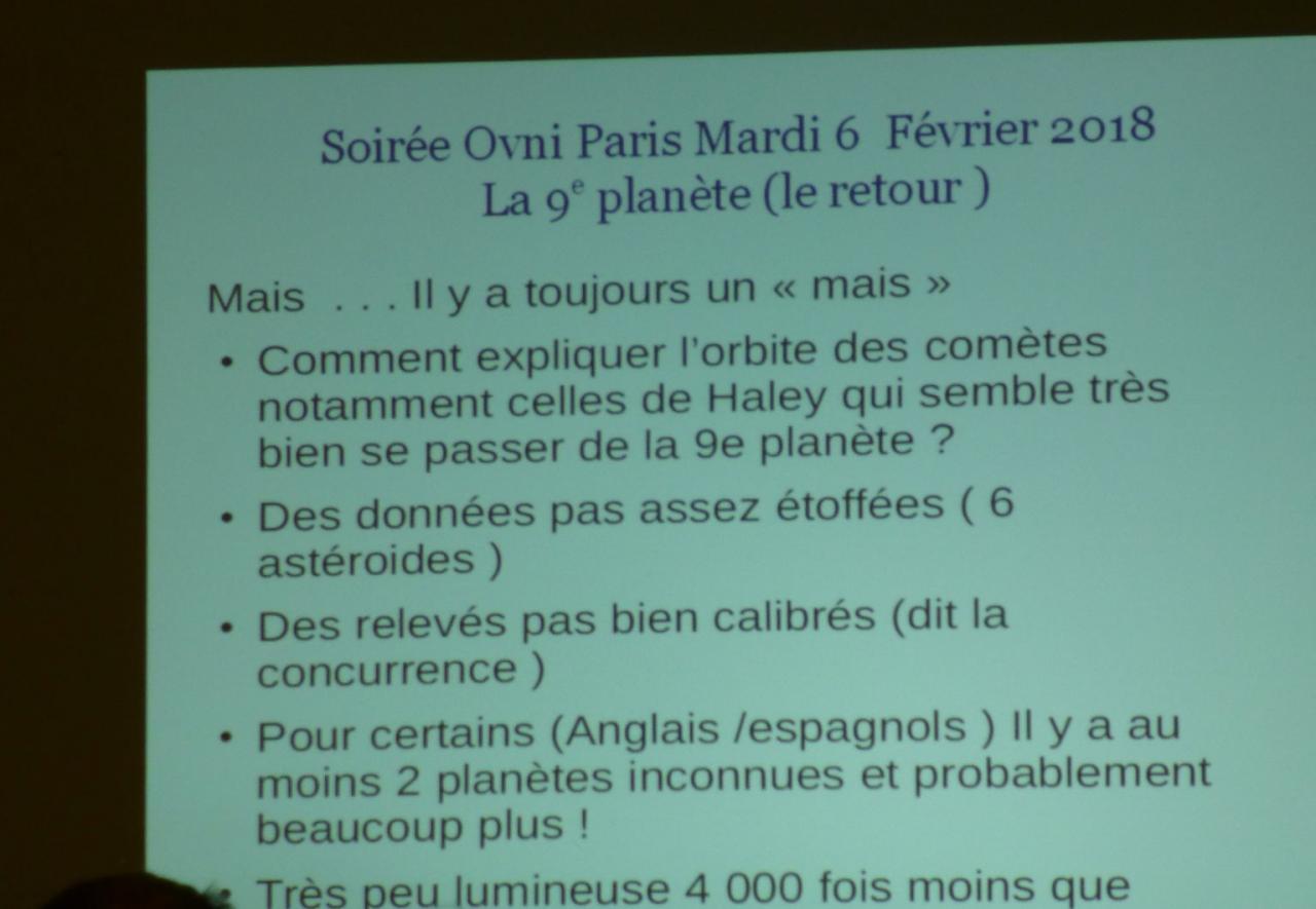 Planète  9  ou pas ?