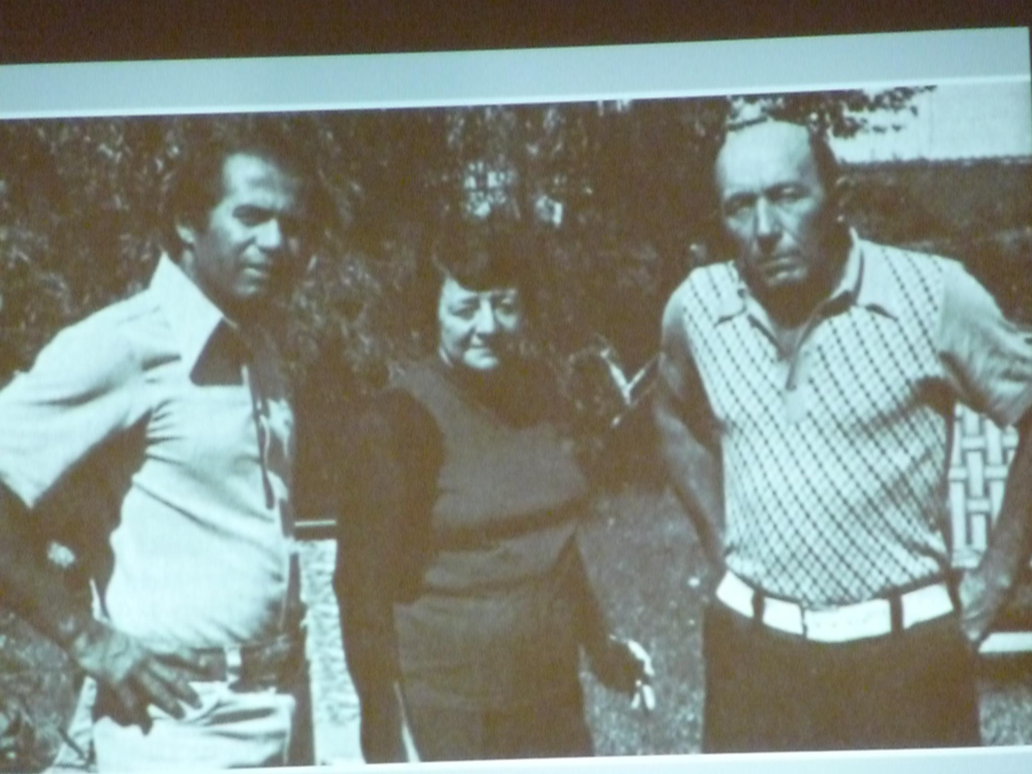 Charles Hickson à droite