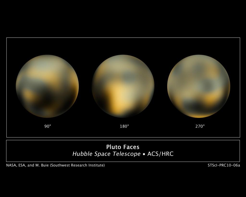 Pluto-hubble