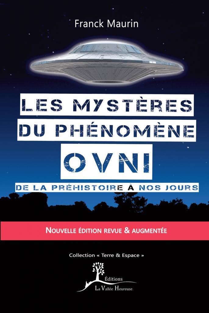 Première de couverture Les mystères du phénomène ovni seconde édition
