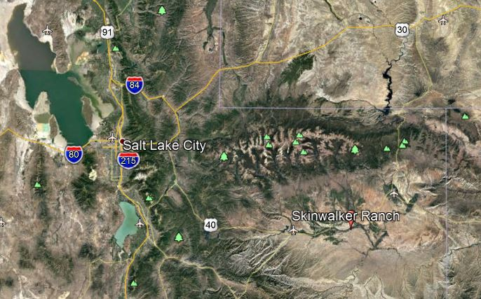 Ranch Utah Google Earth