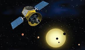Télescope spatial Tess de la Nasa    (Dessin d'artiste)