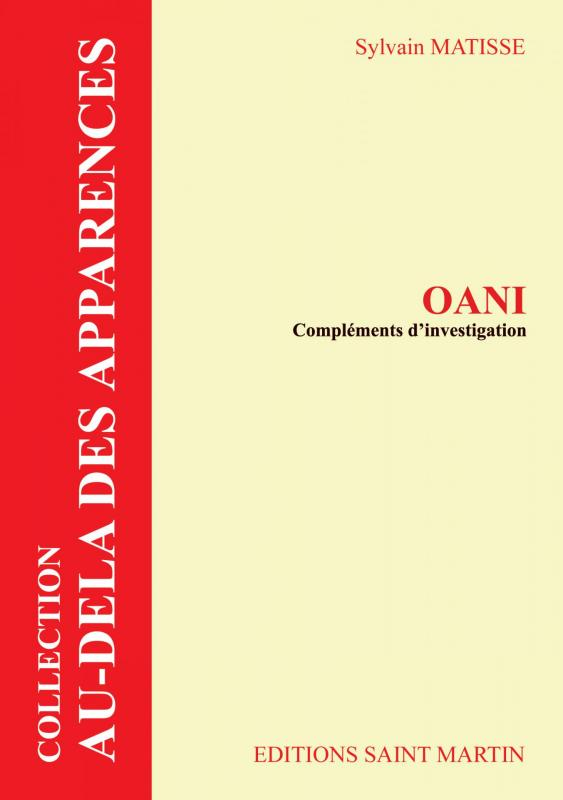 Oani complement investigation 1