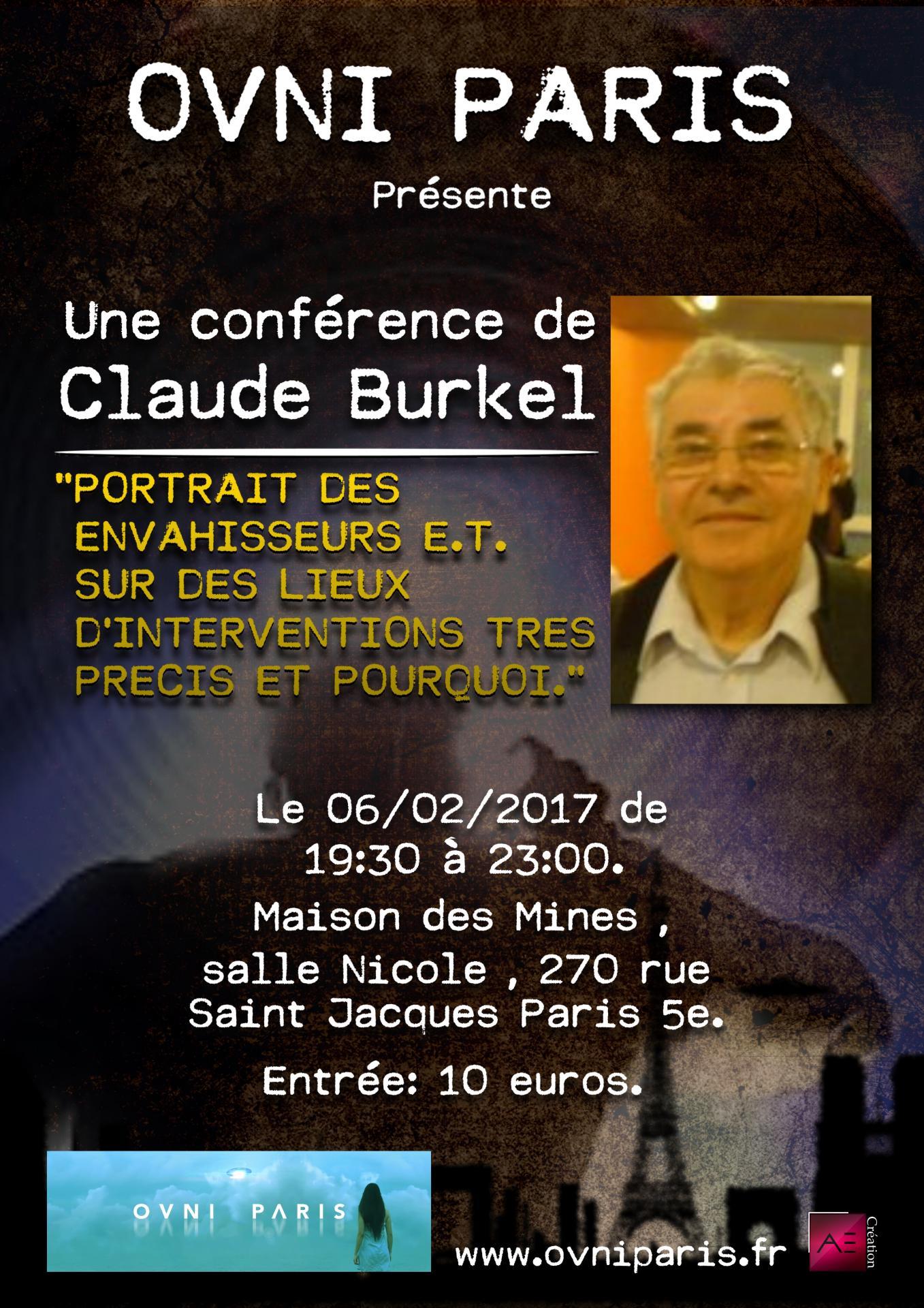 Claude Burkel  à Ovni Paris
