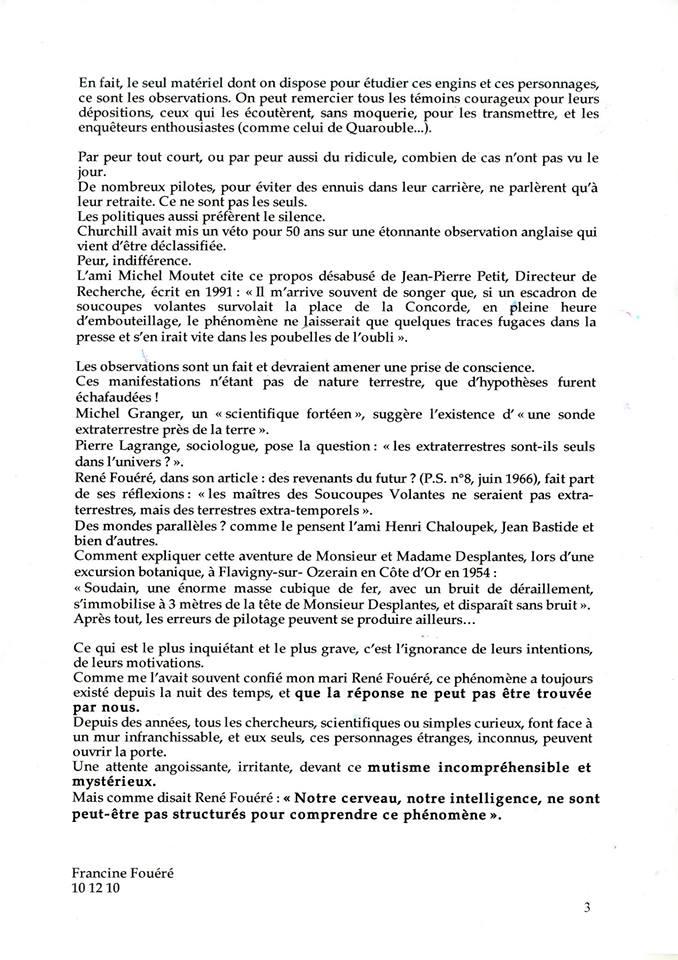 Testament ufo francine fouere3